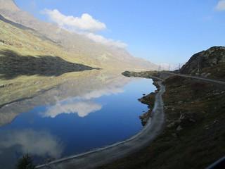 lago Bianco al passo Bernina