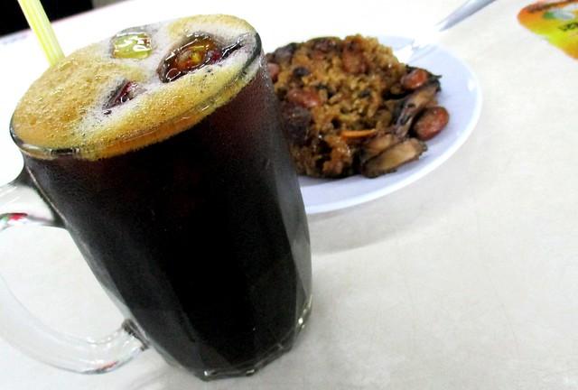 Eco Delite Food Court, kopi-o-peng & lor mai kai