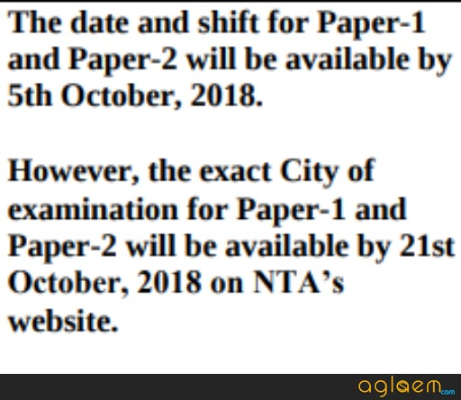 NTA Announces JEE Main 2019 Exam Date And Shift On 5 October; Check Details Here!