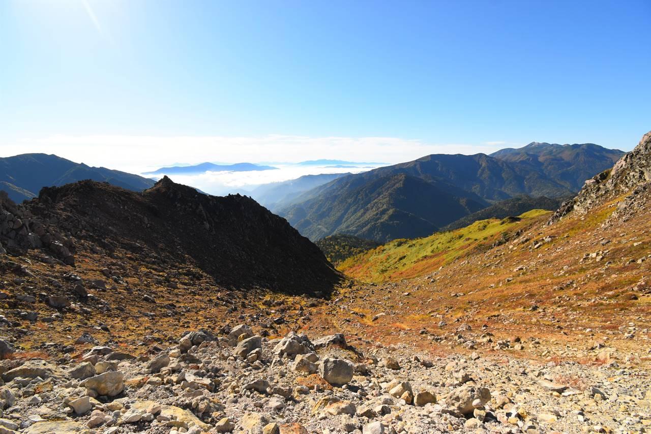 焼岳稜線からの展望