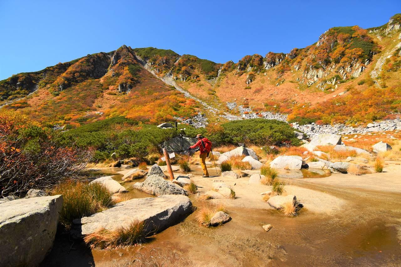 木曽駒ヶ岳~濃ヶ池 紅葉登山