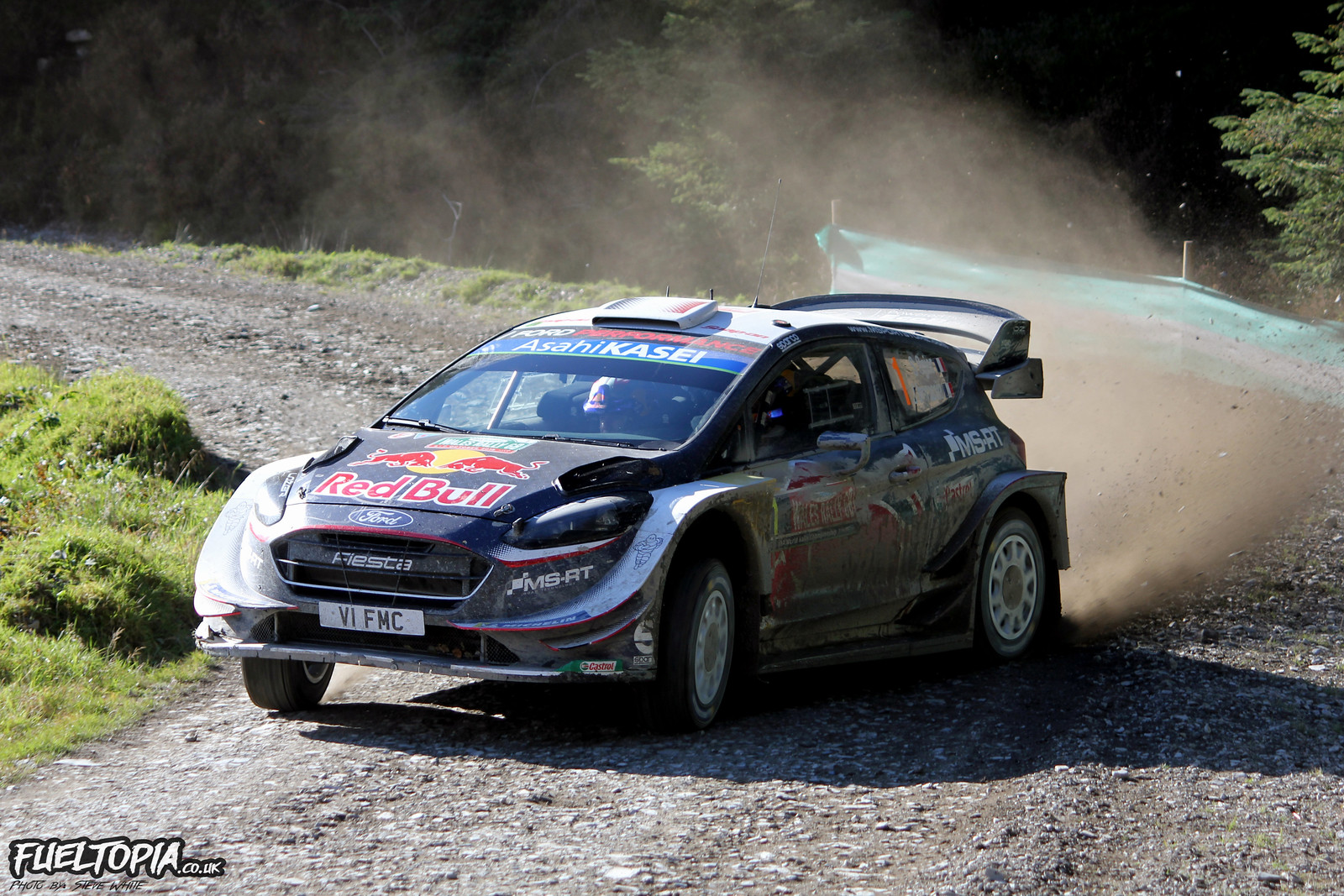 Sebastien Ogier Ford Fiesta M-Sport Rally GB 2018 WRC World Rally Championship