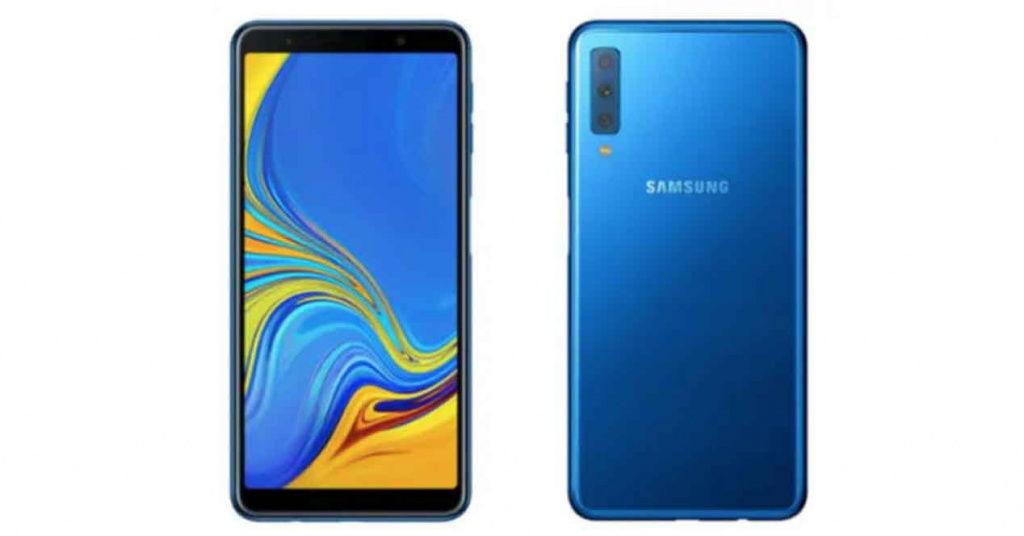 Samsung Galaxy A7 (2018): el primero con triple cámara, 24 megapíxeles y 120º