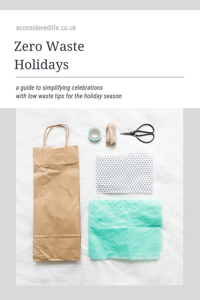 Zero Waste Holidays