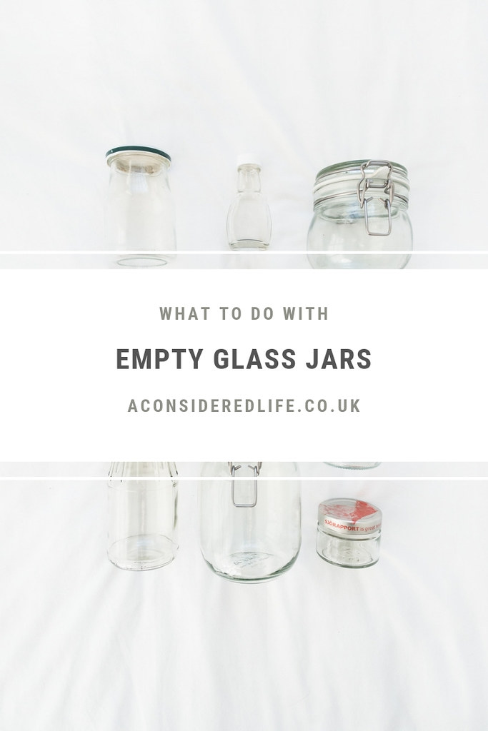 Making Use Of Empty Jars