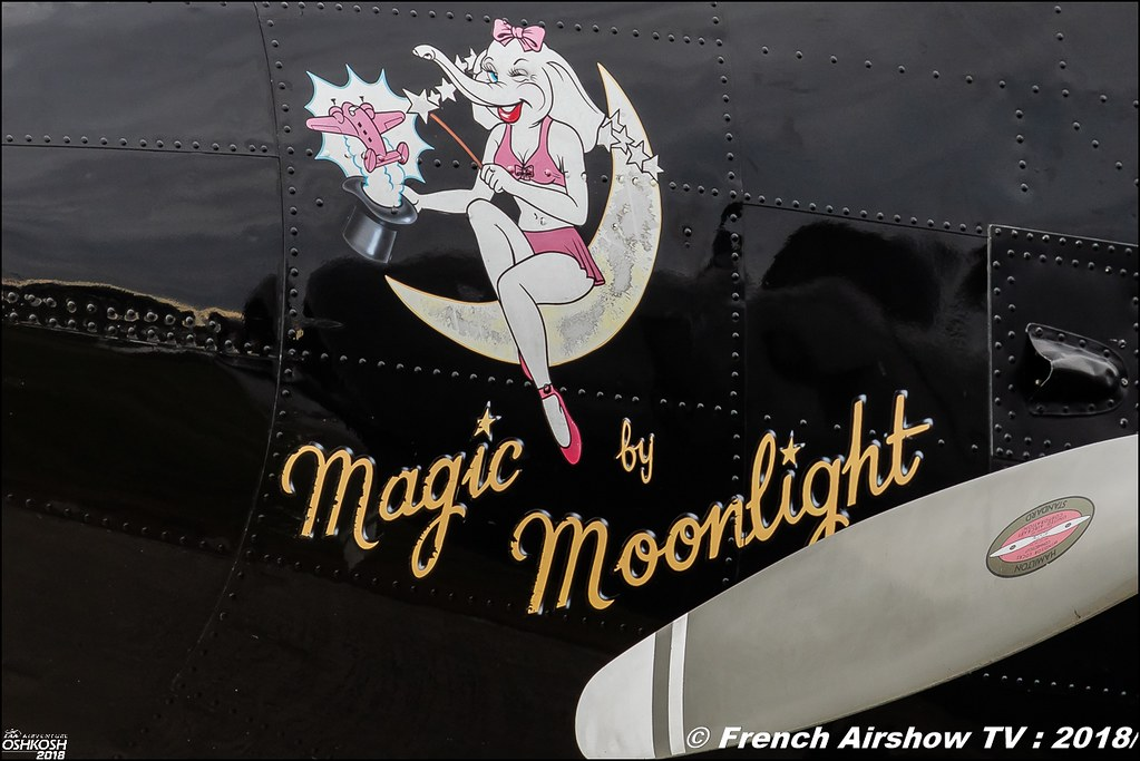 Twin Beech 18 N9109R younkinair Matt Younkin Airshows magic by moonlight