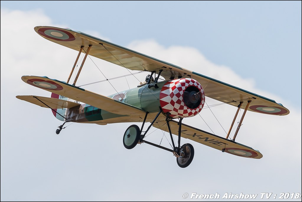 Nieuport 28 Meeting de l Air BA-133 Nancy Ochey 2018 FOSA Armee de l Air Canon Sigma France contemporary lens Meeting Aerien 2018