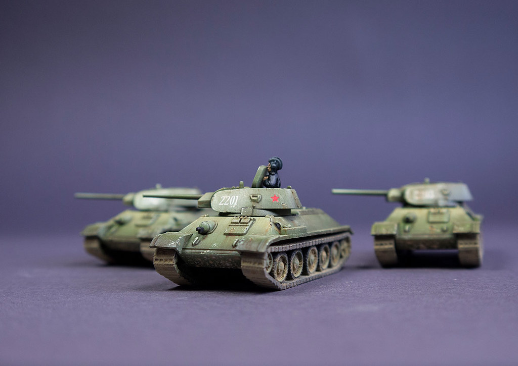 Flames of War Battlefront T-34 Early
