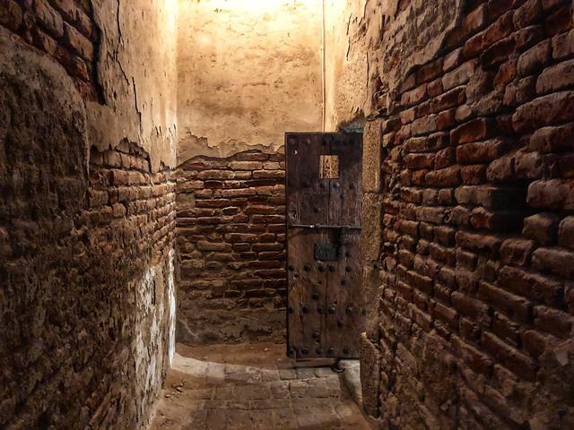 Celda de castigo de la Cárcel Real de Coria (Cáceres)
