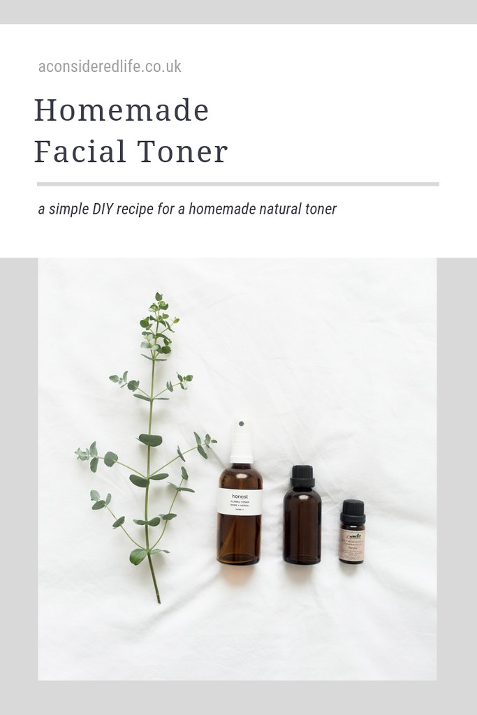 A Simple Homemade DIY Facial Toner