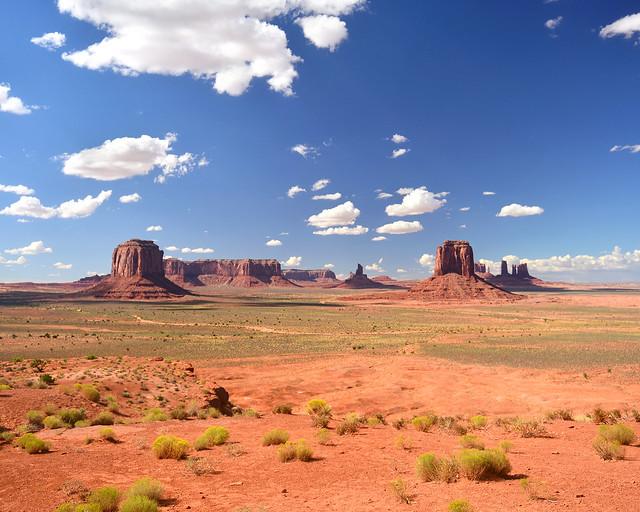 Mirador de los artistas de Monument Valley