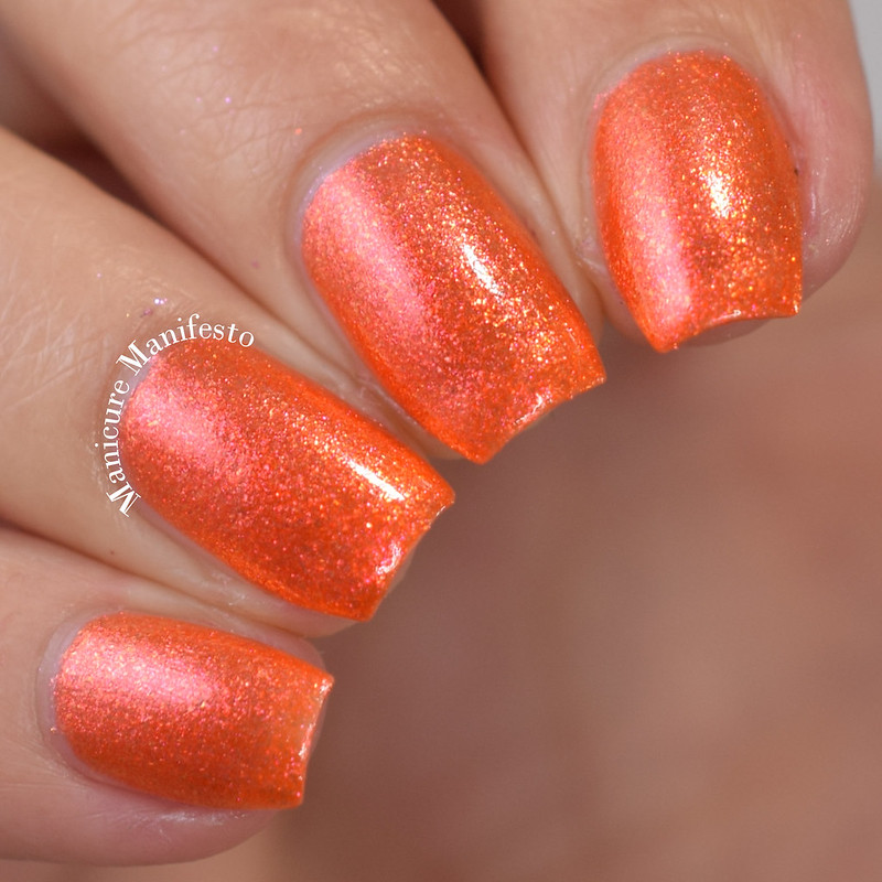 Live Love Polish Saffron review
