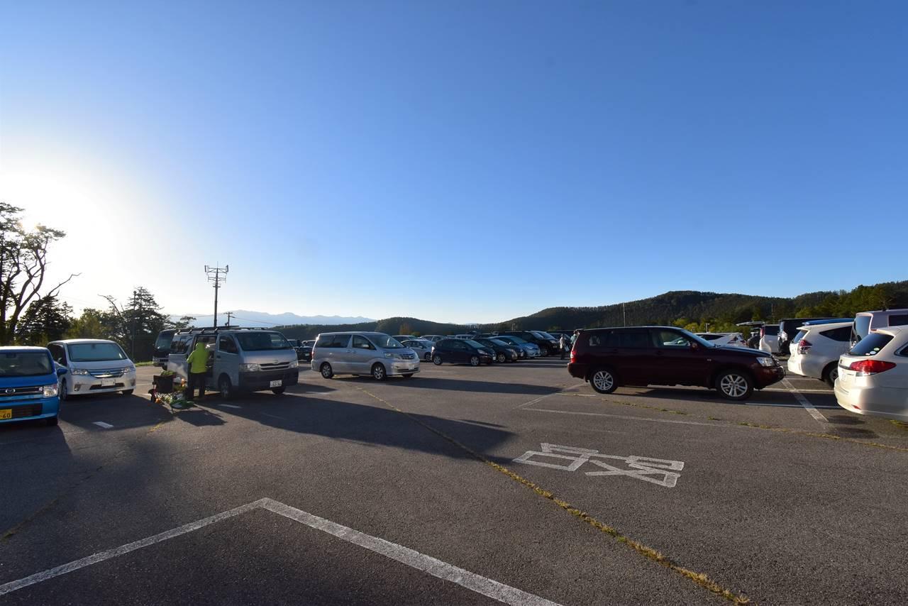 御嶽山 ロープウェイ乗り場駐車場