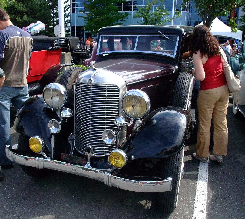 Vintage Car Run., B.C., 2008, Fernie To