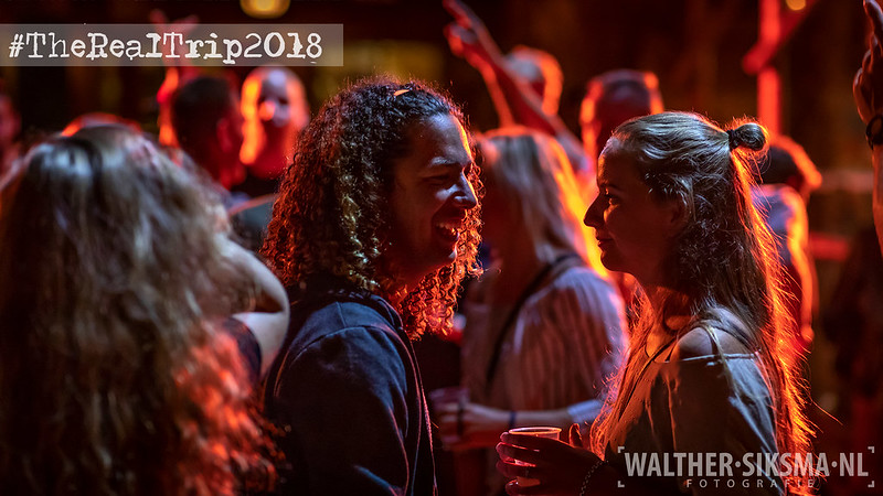 Party bij The Real Trip 2018, Makkum, Friesland