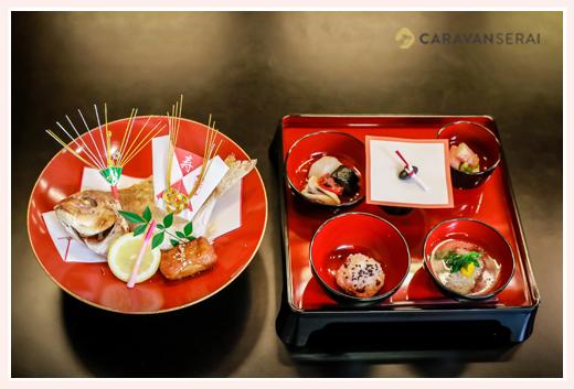 お食い初め膳(料理) 賀城園(名古屋市)