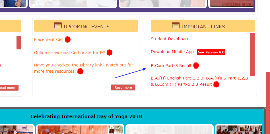 939f196da0e13 Latest   DU SOL Result 2018, Delhi Unversity SOL Result 2018 for the B.Com  Courses of Final Year has been Declared. Check below on this page.