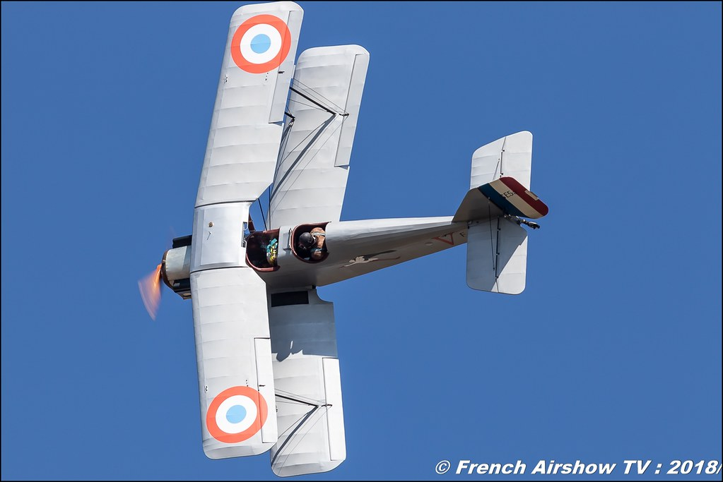 Nieuport 17 , Meeting aérien Des Étoiles et des Ailes 2018 - Aéroport de Toulouse Francazal , Canon EOS , Sigma France , contemporary lens , Meeting Aerien 2018
