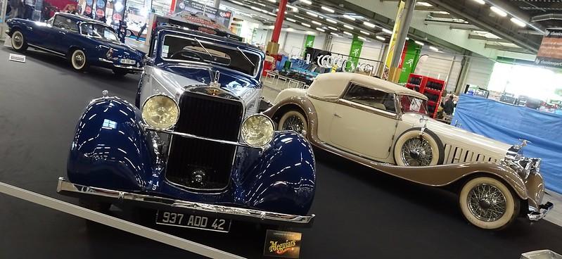Hispano Suiza K6 Fernadez & Darrin 1937 et K6 Vanvooren 1935 43502556150_fe6307e08e_c