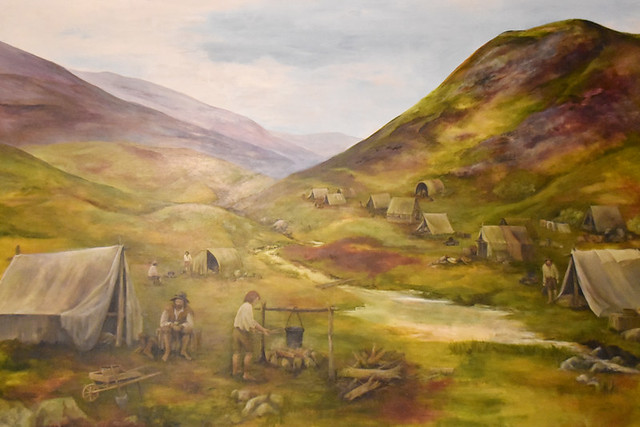 Lead mining camp, Wanlockhead, Scotland