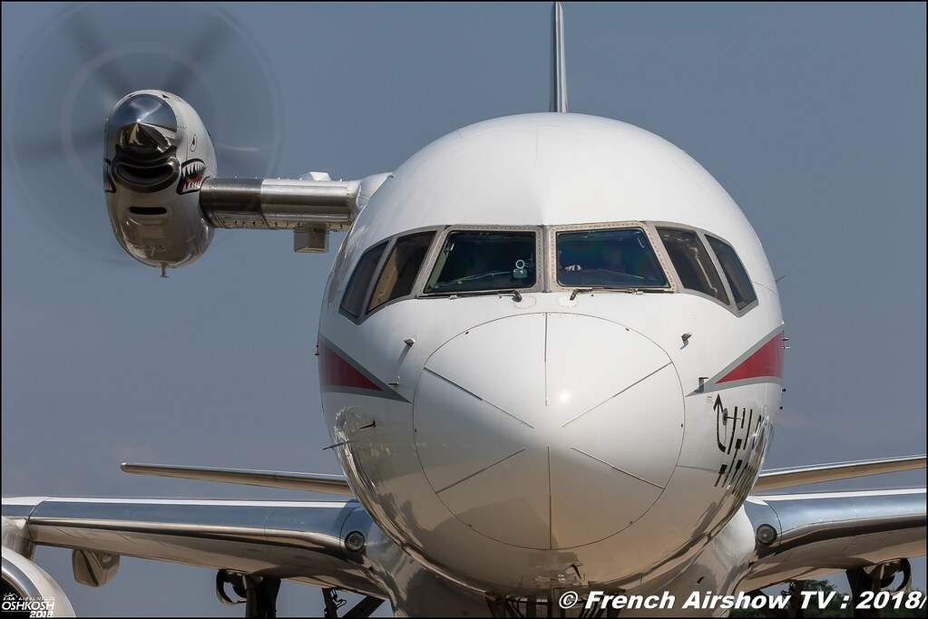 Honeywell Aviation Services Boeing 757-200 N757HW EAA Oshkosh 2018