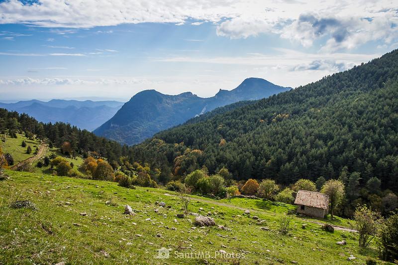 El Sobrepuny al salir del Bac de Cal Serra