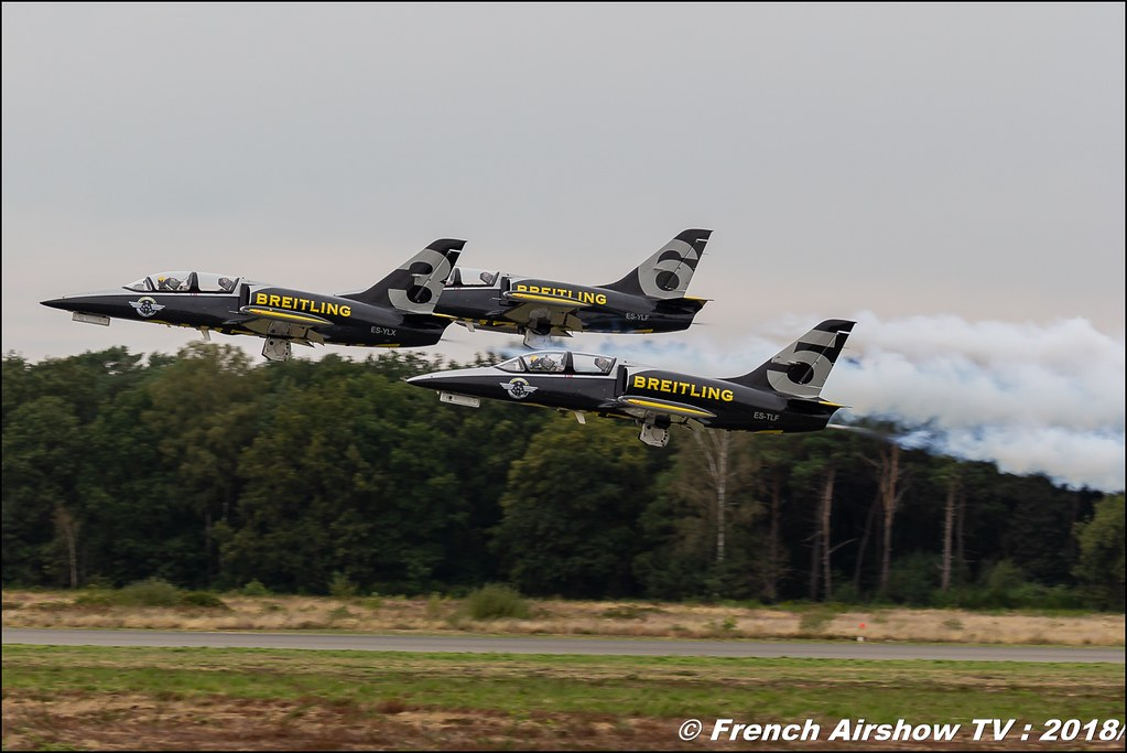 Breitling Jet Team BAFDAYS Kleine-Brogel 2018 BELGIAN AIR FORCE DAYS 2018 BA Kleine Brogel Canon Sigma France contemporary lens Meeting Aerien 2018