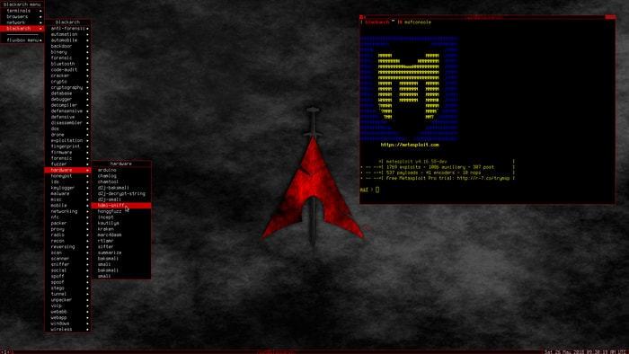 BlackArch-Linux-fluxbox