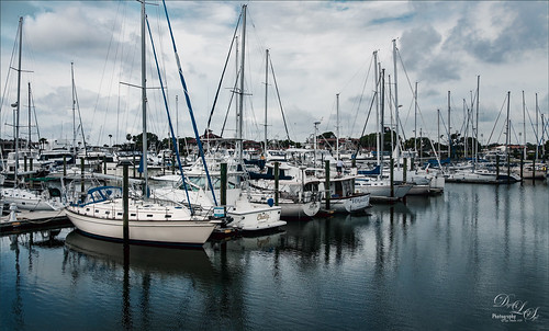 Image of sailboats at Camachee Cove, St. Augustine, Florida