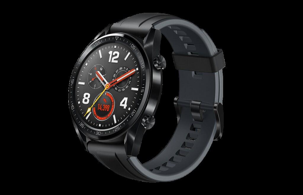 The new Huawei Watch GT in Black. (Photo credit: Huawei)