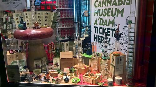 Venta de marihuana en Amsterdam