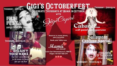 Final Show especial Halloween Gigi Capri en Mamá#5