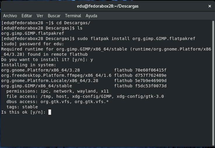 Instalando-GIMP-desde-un-paquete-Flatpak-descargado