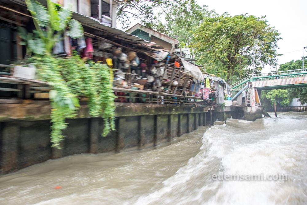 Бангкок кораблик по кхлонгу