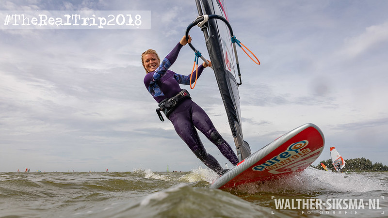 Arrianne Aukes in Makkum, Friesland bij The Real Trip 2018