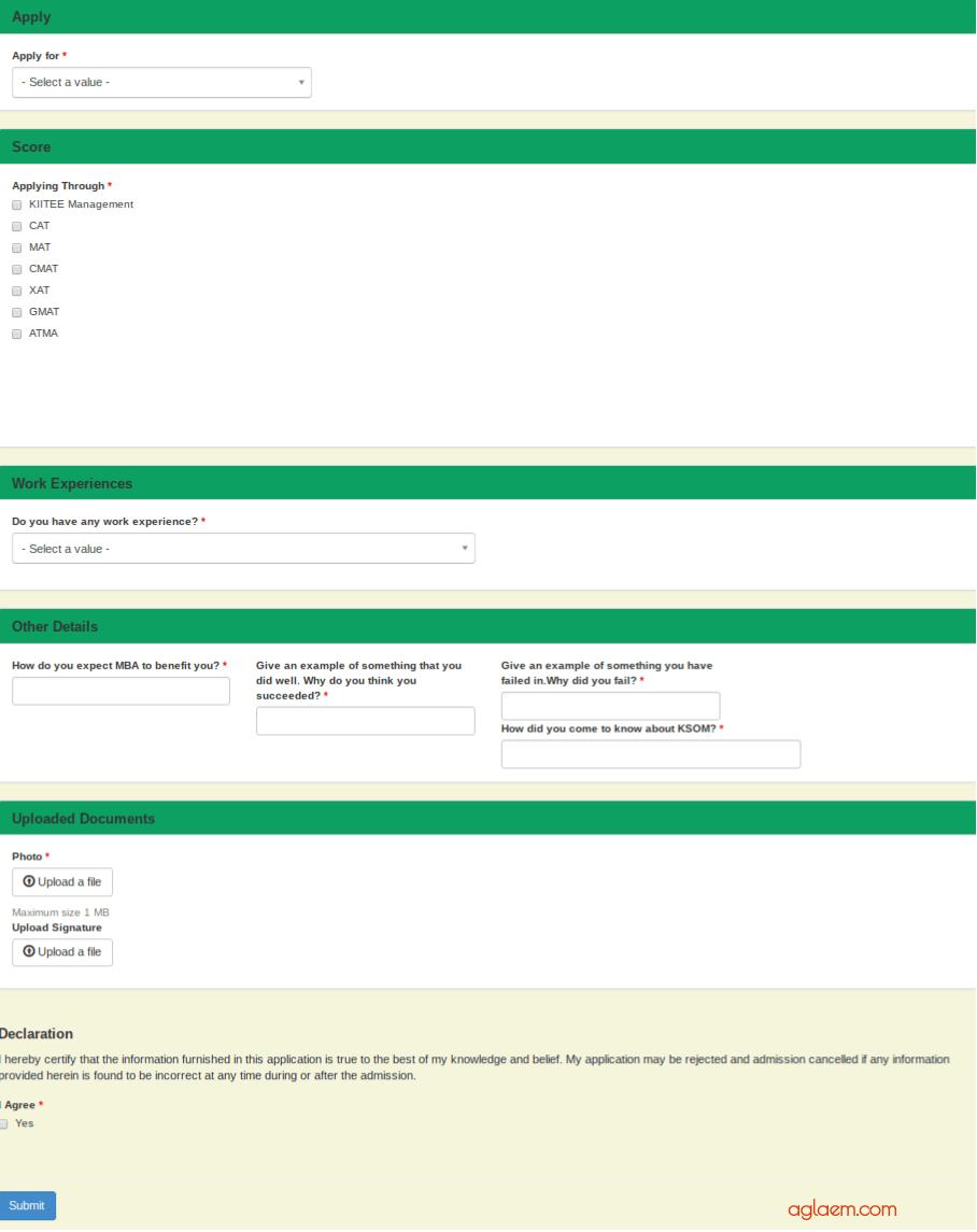 KIITEE MGMT 2019 Registration