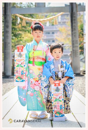七五三のロケーションフォト 白山神社(岐阜県多治見市)