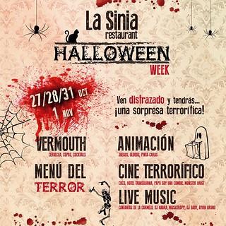 Fiesta Halloween La Sinia Restaurant