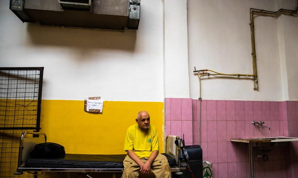 一間位於布達佩斯的收容所。(圖片來源:Arpad Kurucz/Getty)