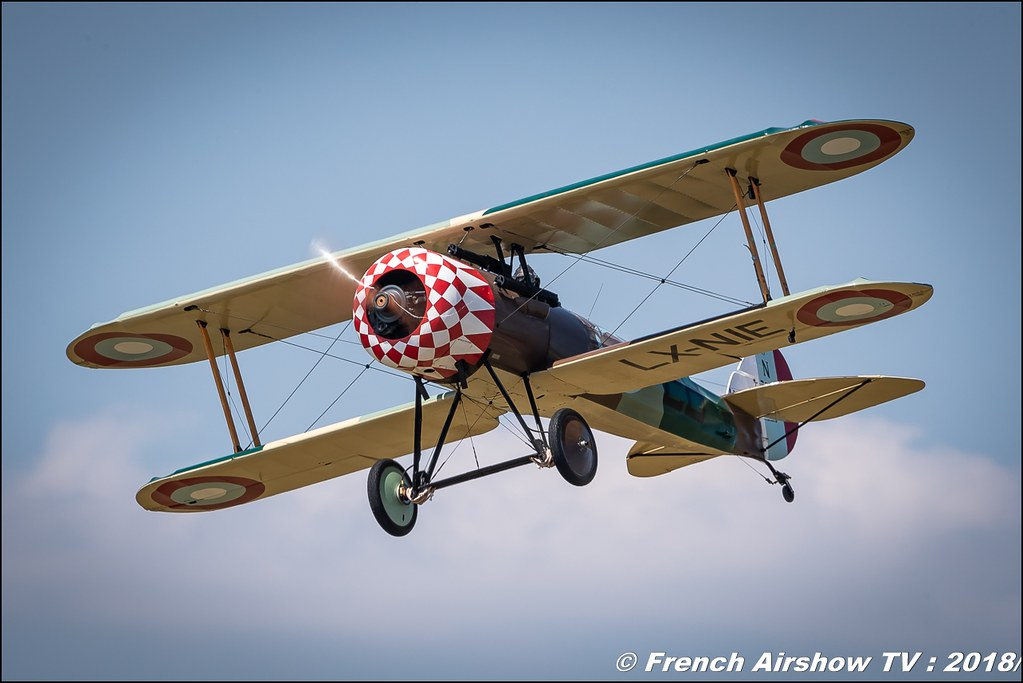 Nieuport 28 - LX-NIE Meeting de l Air BA-133 Nancy Ochey 2018 FOSA Armee de l Air Canon Sigma France contemporary lens Meeting Aerien 2018