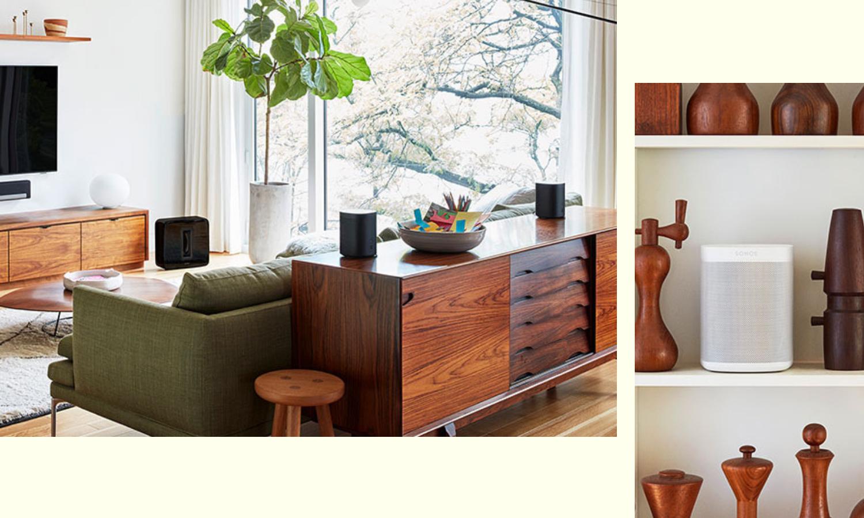 Kabelloses Wohnen mit Sonos. Sound für die gesamte Wohnung. Bildquelle: sonsos.com