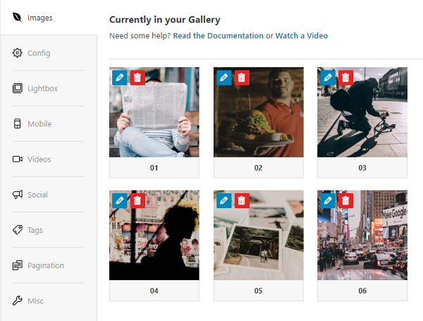 How to Quickly Create a Stunning Image Gallery in WordPress