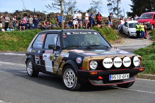 Asier Santamaria - Roberto Renteria, VW Golf GTI, XXV Rallye de Gernika 2018