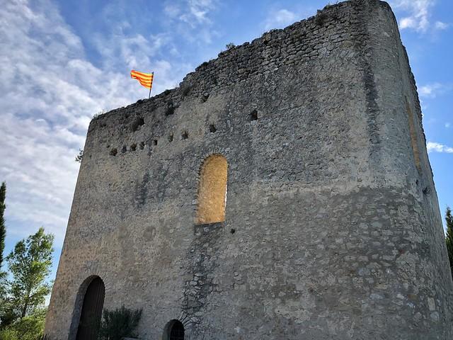 Castillo de La Tossa de Montbui (Anoia, Barcelona)