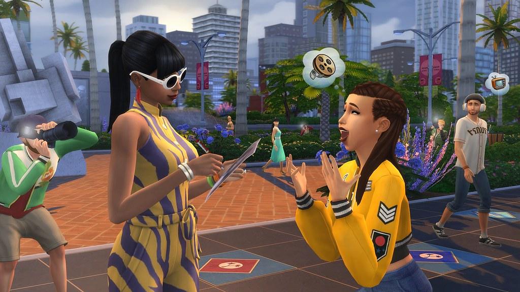 Blog oficial: Presentación de Los Sims 4 ¡Rumbo a la Fama!