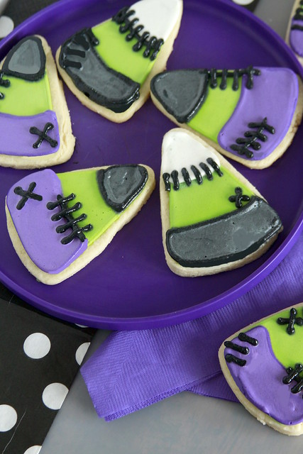 Frankenstein Candy Corn Cookies