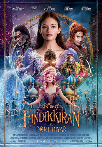 Fındıkkıran ve Dört Diyar - The Nutcracker and the Four Realms (2018)