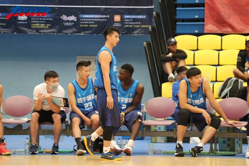 李漢昇代表晧與國際出戰觀護盃。(記者李沅芷/攝)