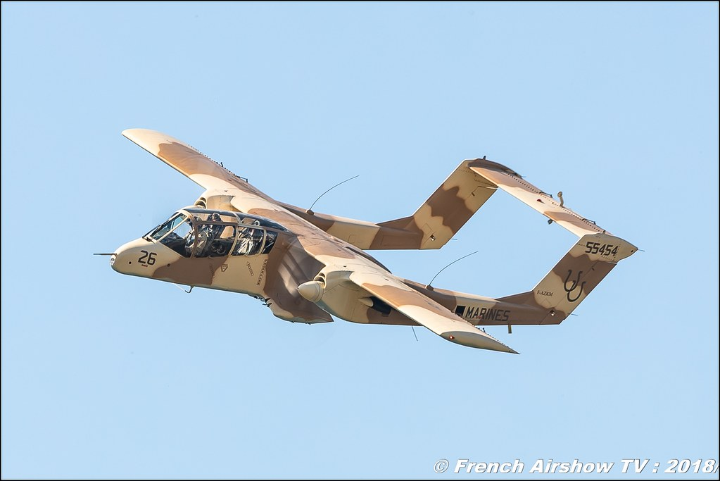 ov-10 bronco montelimar Meeting de l Air BA-133 Nancy Ochey 2018 FOSA Armee de l Air Canon Sigma France contemporary lens Meeting Aerien 2018