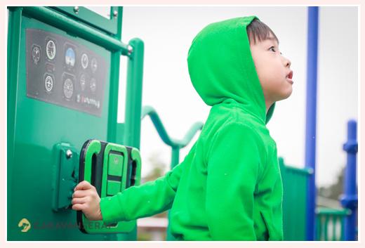 エアフロントオアシス(愛知県小牧市)で遊ぶ7歳の男の子